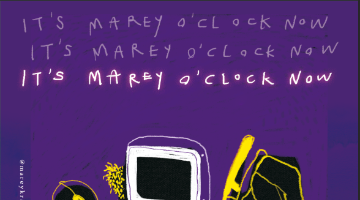it's marey o'clock now