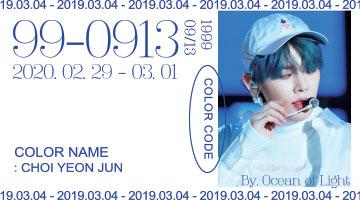 Color Code 99-0913 : Color Name Choi Yeonjun